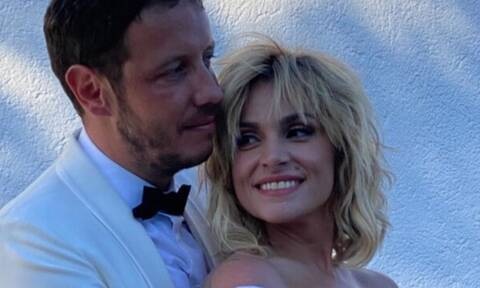 Ελεονώρα Ζουγανέλη: Η σπάνια εμφάνιση με τον σύζυγό της Σπύρο Δημητρίου (photos)