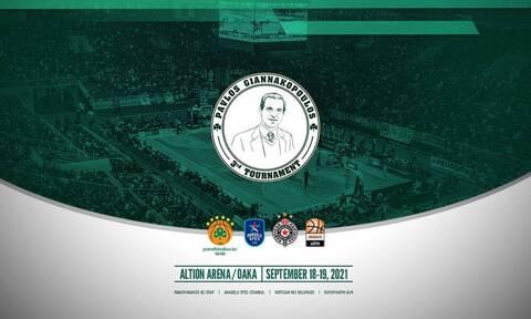 Παναθηναϊκός ΟΠΑΠ: Live streaming η Συνέντευξη Τύπου για το τουρνουά «Παύλος Γιαννακόπουλος»