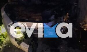 Τραγωδία στα Ψαχνά: Θανατηφόρο τροχαίο με δυο νεκρούς