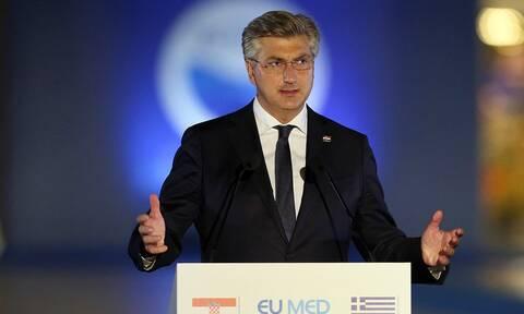 Αντρέι Πλένκοβιτς: Να ενισχύσουμε τα εξωτερικά σύνορα της Ευρωπαϊκής Ένωσης