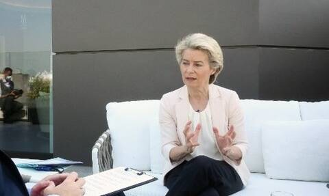 Ούρσουλα φον ντερ Λάιεν: Οι μεσογειακές χώρες μπορούν να γίνουν πρωτοπόρες για την κλιματική αλλαγή