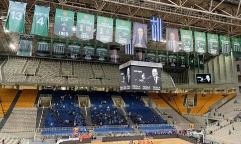 Τουρνουά «Παύλος Γιαννακόπουλος»: Ενός λεπτού σιγή στη μνήμη του Ντούσαν Ίβκοβιτς