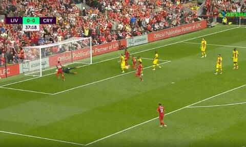 Premier League: Αυτό δεν χάνεται! Η απίστευτη ευκαιρία του Ζότα της Λίβερπουλ (video)