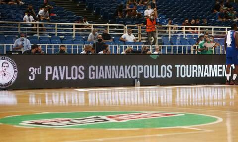 Τουρνουά «Παύλος Γιαννακόπουλος»: Χαμός στην είσοδο του Παναθηναϊκού στο ΟΑΚΑ (video)