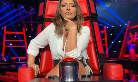 The Voice: Η εμφάνιση της Παπαρίζου στην πρεμιέρα και τα αποθεωτικά σχόλια στο Twitter (photos)