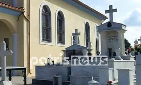 Γυναίκα βρέθηκε νεκρή σε νεκροταφείο στην Αμαλιάδα