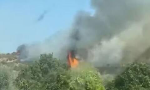 Φωτιά στην Κύπρο 19 Σεπτεμβρίου