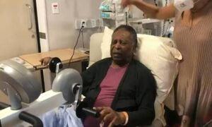 Πελέ: Το πρώτο βίντεο μετά την επέμβαση του - «Σήμερα ήταν δύο βήματα μπροστά!» (video)