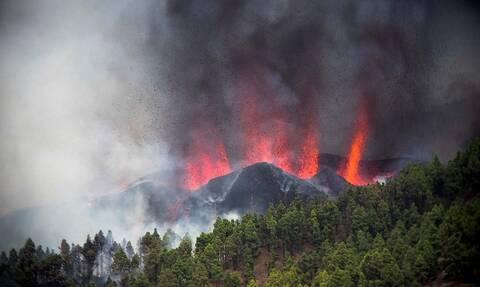 Έκρηξη ηφαιστείου στη νήσο Λα Πάλμα