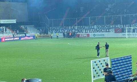 Βράζει η «ΑΕΚ» με Φωτιά - Έφυγε από το γήπεδο, ο πρώτος βοηθός έκλεισε το φύλλο αγώνα