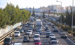 Κίνηση ΤΩΡΑ: Μεγάλο μποτιλιάρισμα στον Κηφισό – Δυσκολίες και σε αρκετούς δρόμους – Δείτε χάρτη