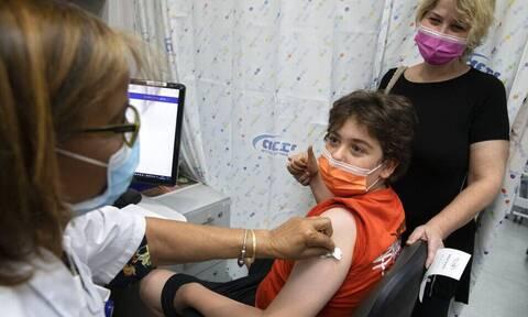 Κορονοϊός: Σπάνιες οι παρενέργειες στα παιδιά μετά τα εμβόλια