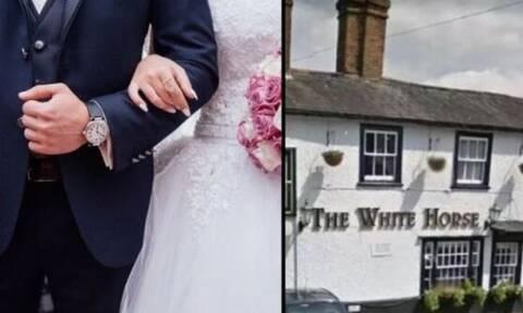 Γλίστρησε σε γάμο, διέλυσε τον δικέφαλο του ποδιού της και θα πάρει αποζημίωση 32.000 λίρες