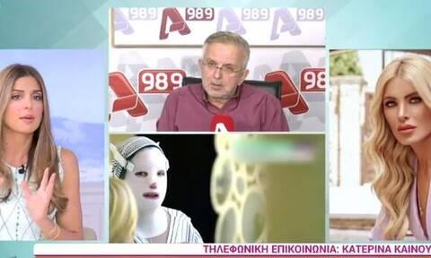 Καινούργιου για τη συνέντευξη της Ιωάννας Παλιοσπύρου: «Θα σοκαριστείτε»