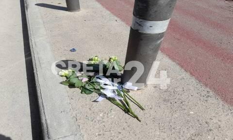 Τραγωδία στην Κρήτη: Λευκά τριαντάφυλλα στη μνήμη των δύο παιδιών που σκοτώθηκαν