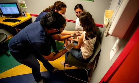Εμβόλιο Pfizer σε παιδιά 5-11 ετών