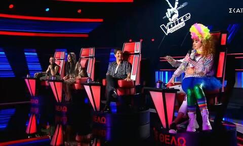 The Voice: Σαρωτική πρεμιέρα για το μουσικού show