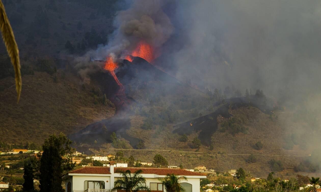 Έκρηξη ηφαιστείου στη Λα Πάλμα: Η λάβα «κατάπιε» 100 σπίτια – Απομακρύνθηκαν κάτοικοι και τουρίστες