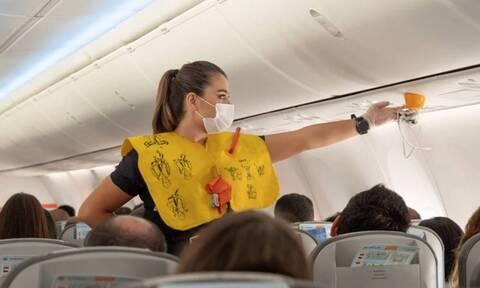 На Крите задержан турист из Израиля, который отказывался носить маску в самолете