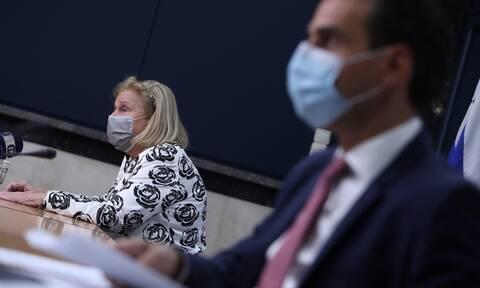 LIVE η ενημέρωση του υπουργείου Υγείας για την τρίτη δόση του εμβολίου