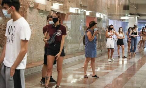Κρούσματα σήμερα: 369 νέες μολύνσεις στην Αθήνα - «Εκτόξευση» στη Θεσσαλονίκη με 341