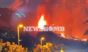 Μαρτυρία από Κανάρια Νησιά στο Newsbomb.gr: Ασταμάτητη η λάβα, δύσκολη αλλά υπό έλεγχο η κατάσταση