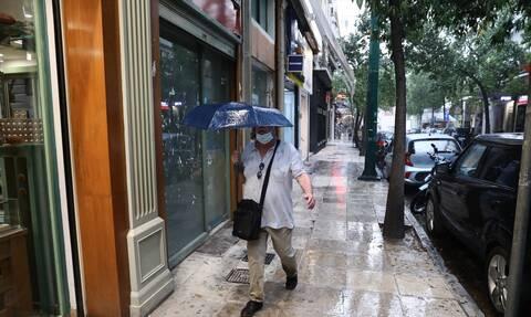 Καιρός βροχές άνεμοι Τρίτη