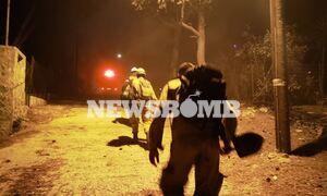 Φωτιά στη Νέα Μάκρη: Πού μπορούν να φιλοξενηθούν όσοι εκκένωσαν τα σπίτια τους – Σε επιφυλακή το ΚΥ