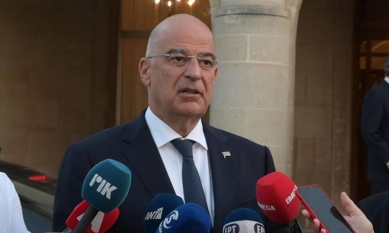 O Νίκος Δένδιας ενημέρωσε τους ΥΠΕΞ της ΕΕ για τη νέα τουρκική πρόκληση ανοιχτά της Κρήτης