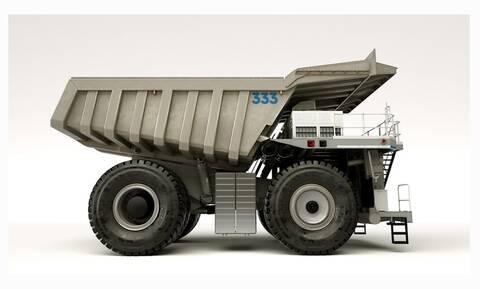 Αυτό το φορτηγό λατομείου είναι Rolls Royce!