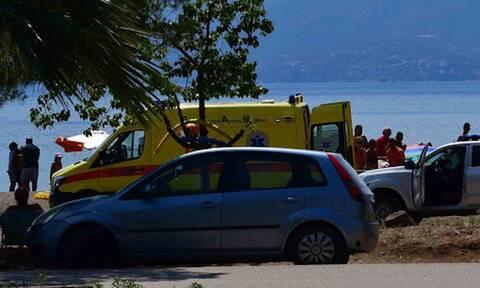 Ναύπλιο: Νεκρός 71χρονος στην παραλία Καραθώνας
