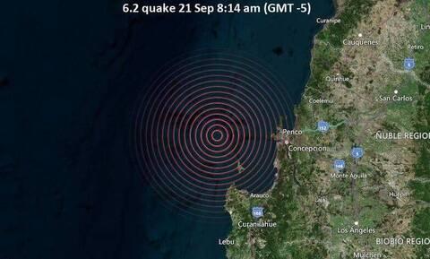 Χιλή σεισμός Ρίχτερ