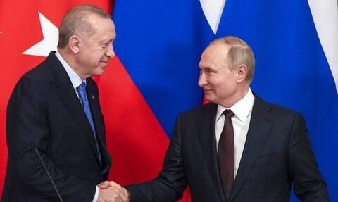 Ερντογάν Πούτιν Συνάντηση