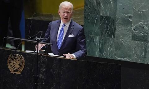 Τζο Μπάιντεν Γενική Συνέλευση των Ηνωμένων Εθνών 21 Σεπτεμβρίου