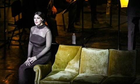 Η Μόνικα Μπελούτσι στο Ηρώδειο ως Μαρία Κάλλας - Οι λαμπερές παρουσίες