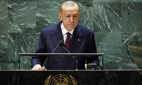 Ρετζέπ Ταγίπ Ερντογάν ΟΗΕ 21 Σεπτεμβρίου