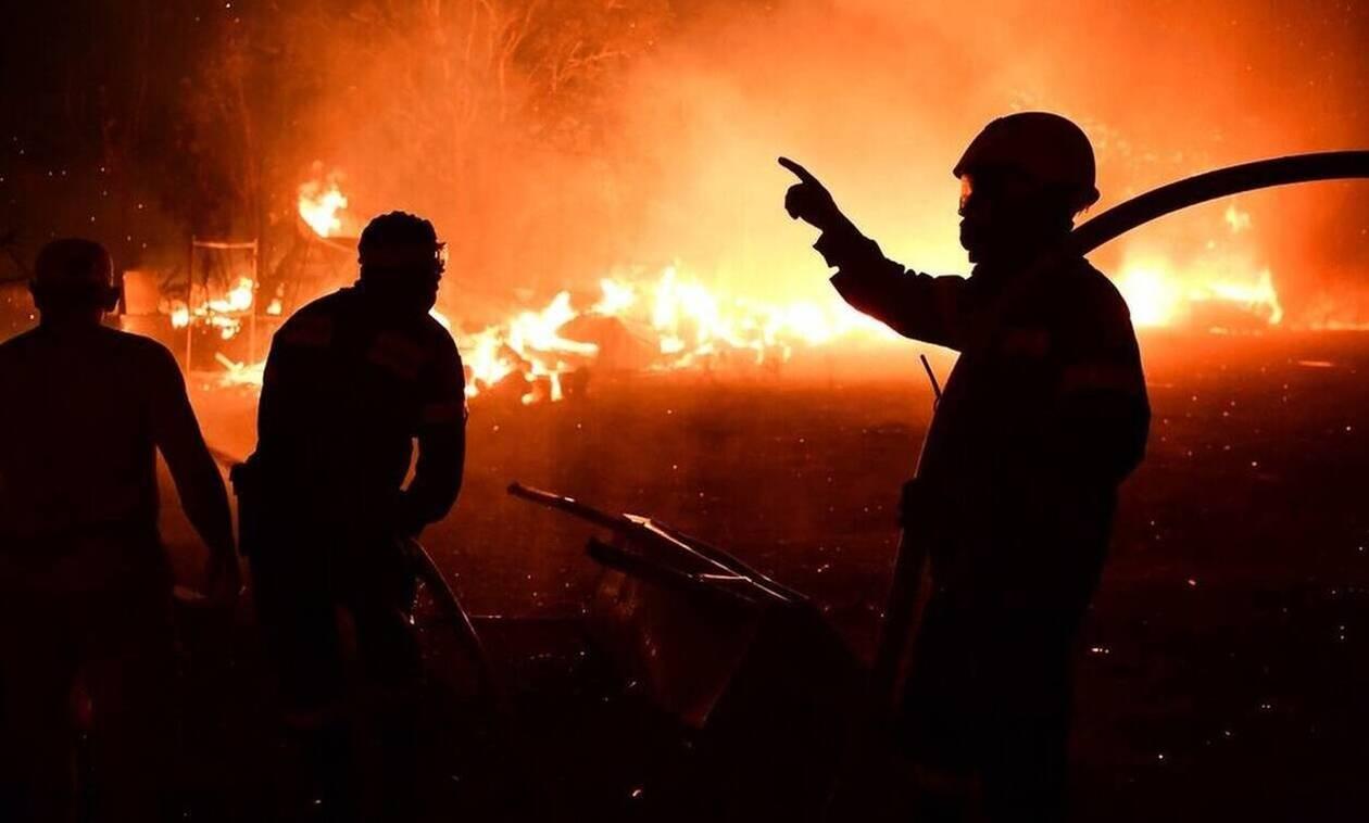 Φωτιά ΤΩΡΑ σε εργοστάσιο στον Ασπρόπυργο Αττικής