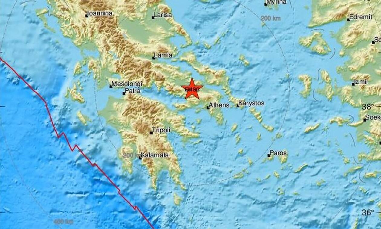 Σεισμός στη Θήβα - Αισθητός σε Αθήνα και Χαλκίδα (pics)