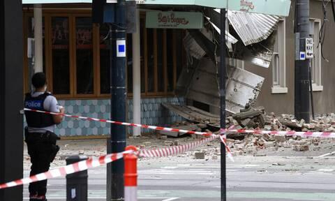 «Λαχτάρισαν» οι Αυστραλοί από τον σεισμό των 5,8R - Η στιγμή που «χτυπούν» τα ρίχτερ