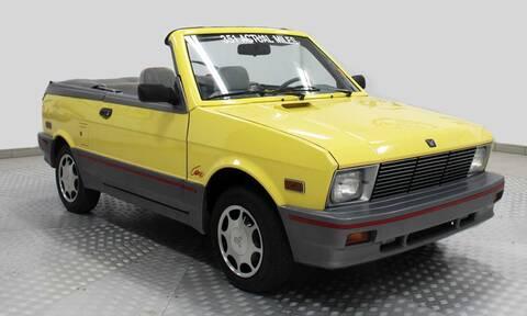 Πωλήθηκε ένα σπάνιο Yugo GVC Cabrio