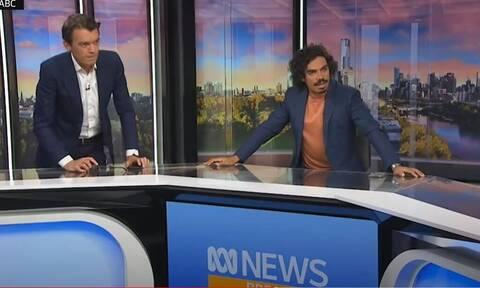 Σεισμός στην Αυστραλία: Η στιγμή που ο εγκέλαδος «χτυπά» τηλεοπτικό στούντιο