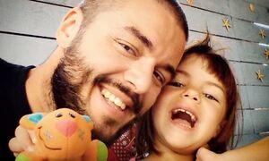 Πέτρος Πολυχρονίδης:  Η ανάρτηση με την 11χρονη κόρη του