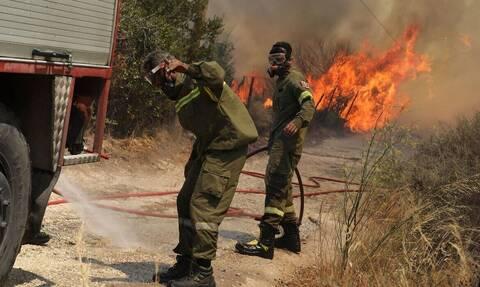 Πολύ υψηλός κίνδυνος πυρκαγιάς αύριο στην Περιφέρεια Νοτίου Αιγαίου