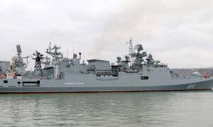 Στο Λιμάνι Λεμεσού η φρεγάτα του ρωσικού στόλου της Μαύρης Θάλασσας «Ναύαρχος Έσσεν»