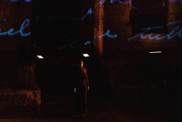 Η Μόνικα Μπελούτσι στο Ηρώδειο με την παράσταση Μαρία Κάλλας: Επιστολές και Αναμνήσεις