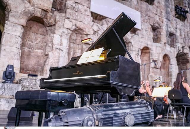 Το αυθεντικό πιάνο της Μαρίας Κάλλας, δώρο του Αριστοτέλη Ωνάση