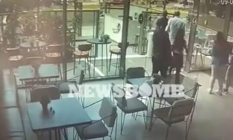 Βίντεο ντοκουμέντο από τη Λ. Αλεξάνδρας: Καρέ - καρέ η ένοπλη επίθεση σε βάρος του 32χρονου