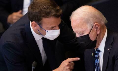 AUKUS: Τι είπαν Μακρόν και Μπάιντεν – Επιστρέφει στην Ουάσιγκτον ο Γάλλος πρεσβευστής