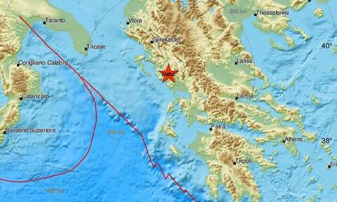 Σεισμός κοντά στην Πάργα (pics)