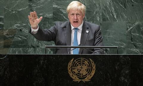 O Mπόρις Τζόνσον στη Συνέλευση του ΟΗΕ